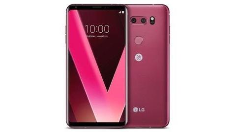 Pembe LG V30 tanıtıldı