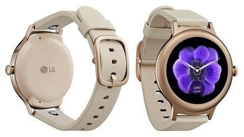 LG Watch Style akıllı saatinden yeni görüntü