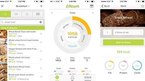 Lifesum iOS Uygulaması