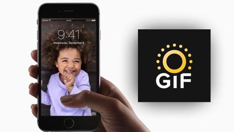 Live GIF iOS GIF Oluşturma Uygulaması