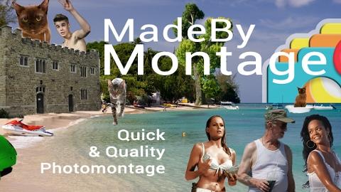 Made By Montage Android uygulaması ile kolay fotomontaj