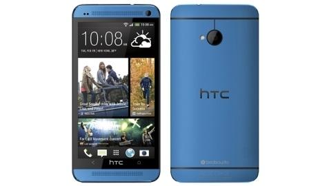 Mavi HTC One görüntülendi