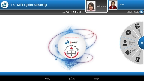 MEB E-OKUL Android Uygulaması