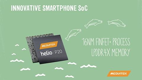 16 nm'lik ilk MediaTek yongası Helio P20 tanıtıldı