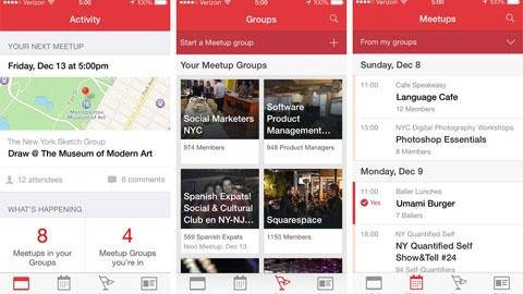 Meetup iOS Uygulaması