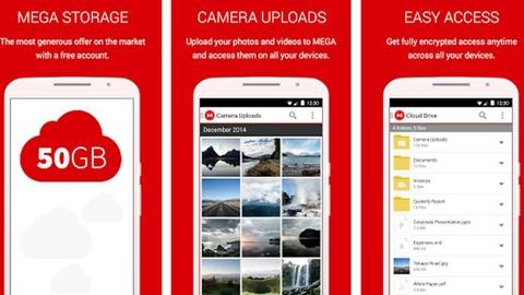 MEGA Android Uygulaması