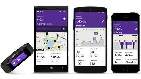 Microsoft Band akıllı bileklik ve Microsoft Health resmen tanıtıldı