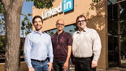 Microsoft, LinkedIn'i 26 milyar dolara satın alıyor