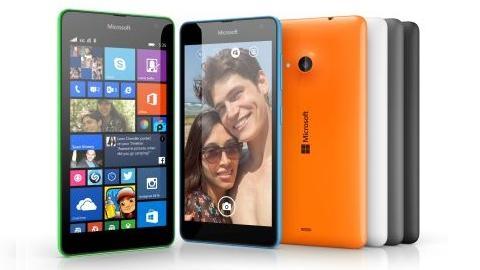 5 inçlik Microsoft Lumia 535 tanıtıldı