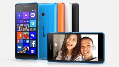 Bütçe dostu Microsoft Lumia 540 tanıtıldı