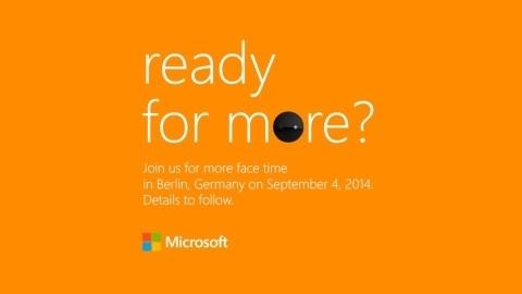 Microsoft, yeni Nokia Lumia telefonlarını 4 Eylül'de tanıtıyor