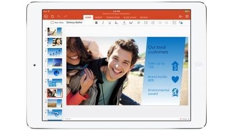 iPad için Microsoft Office uygulamaları indirmeye sunuldu