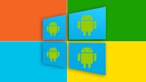 Android uygulamaları Windows ve Windows Phone platformlarına gelebilir