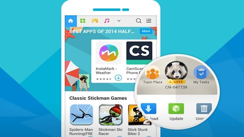 Mobogenie Android Uygulaması