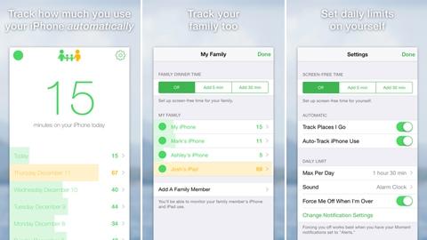 Moment iOS Uygulaması