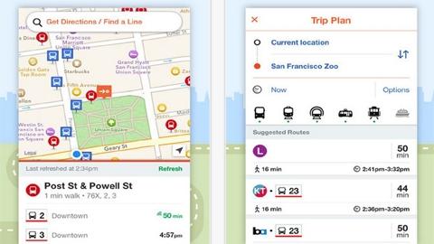 Moovit iOS Uygulaması
