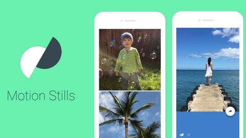 Motion Stills Android Gif Oluşturma Uygulaması