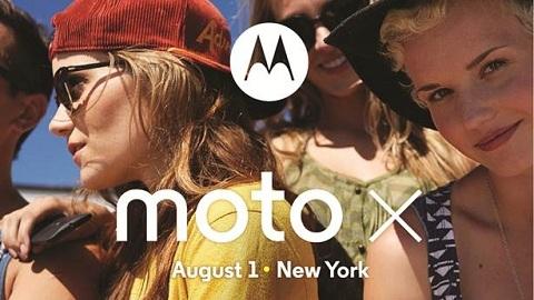 Moto X, 1 Ağustos'ta resmen tanıtılacak