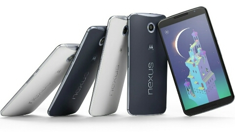 6 in� AMOLED ekranl� Motorola Nexus 6 tan�t�ld�