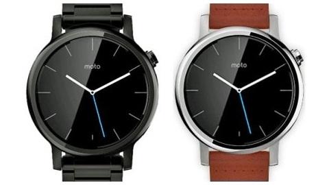 Motorola'nın yeni Moto 360 saatine ait ilk basın görüntüsü yayımlandı