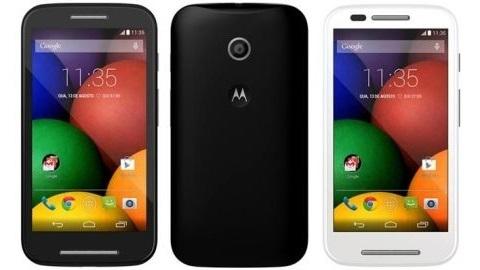 Motorola Moto E'nin teknik özellikleri ve basın görselleri sızdı