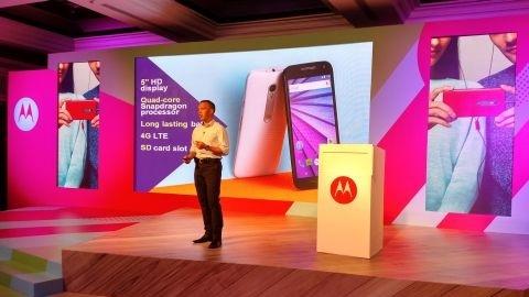 Motorola Moto G 3 tanıtıldı