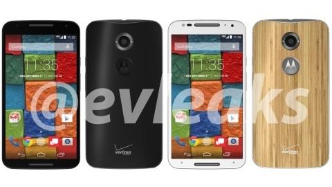 Motorola Moto X+1 siyah ve beyaz sürümleri görüntülendi