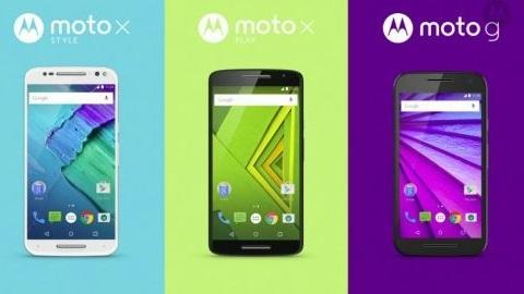 Motorola Moto X Style ve Moto X Play gün yüzüne çıktı