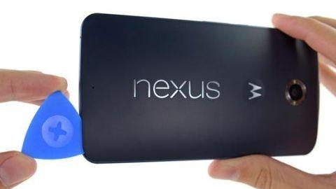 iFixit, Nexus 6'yı parçalarına ayırdı