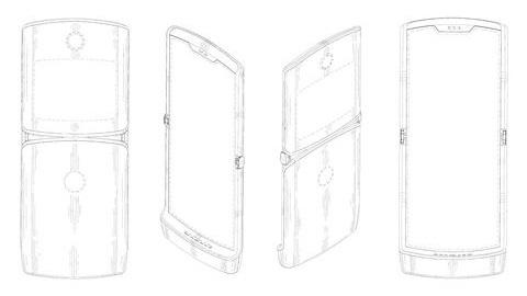 Motorola'nın 2019 model RAZR akıllı telefonundan ilk görüntü