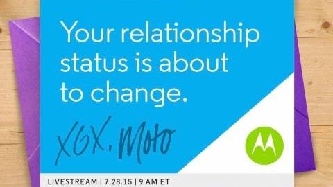 Motorola, 28 Temmuz'da yeni akıllı telefonlarını tanıtacak