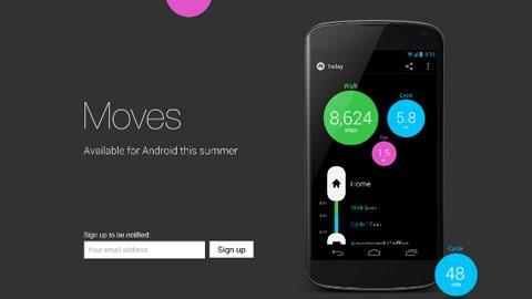 Moves Ücretsiz Android Sağlık Takip Uygulaması