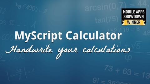 MyScript Calculator ile bilimsel hesaplama hem kolay hem keyifli