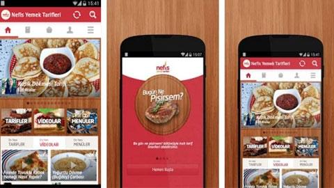 Nefis Yemek Tarifleri Android Uygulaması