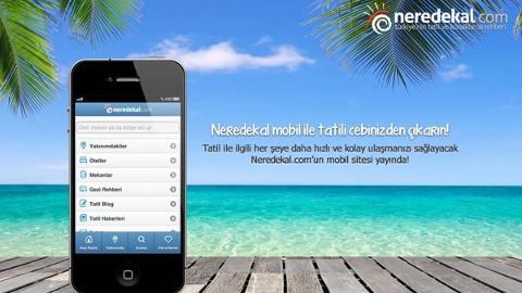neredekal.com iOS ve Android uygulaması yayında