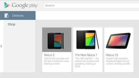 Nexus 5 Play Store'de göründü, beyaz versiyonu ortaya çıktı
