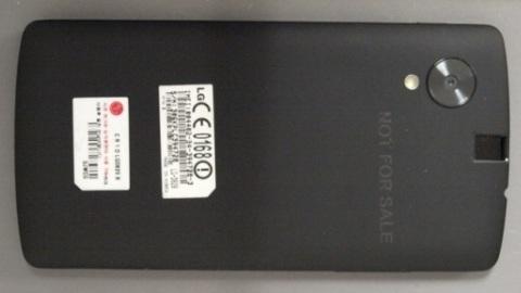 Nexus 5'e ait yeni görüntüler paylaşıldı