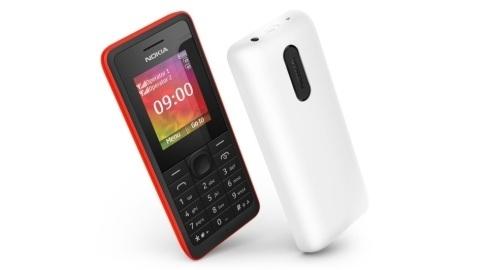 Nokia 106 ve 107 resmen duyuruldu