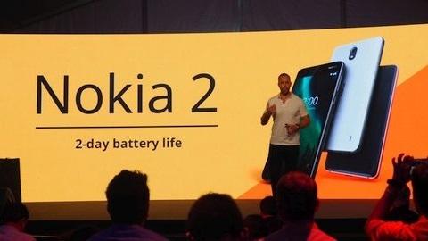 4100 mAh pile sahip Nokia 2 tanıtıldı