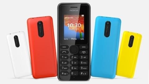 Nokia, 29 dolarlık 108 ve 108 Dual SIM mobil telefonlarını duyurdu
