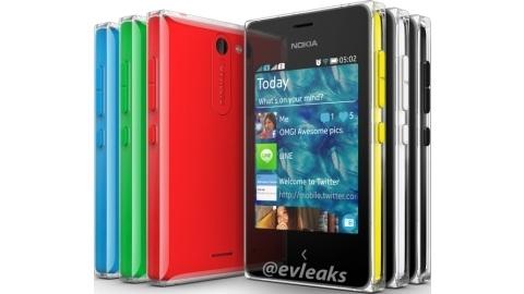 Nokia Asha 502'nin ilk basın görüntüsü yayımlandı