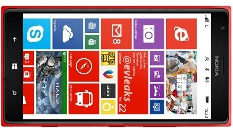 Nokia Lumia 1520'nin kırmızı renkli sürümü görüntülendi