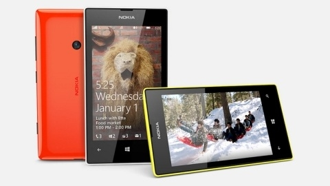 Nokia Lumia 525 resmen piyasaya sürüldü
