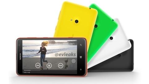 Nokia Lumia 625'in yeni görüntüleri ve resmi özellik listesi sızdı