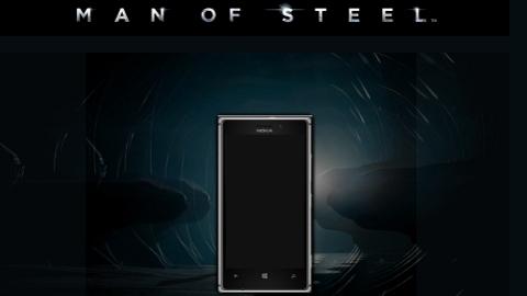 Nokia Lumia 925 Man Of Steel ile birlikte