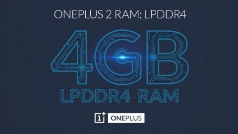 OnePlus 2, 4 GB LPDDR4 RAM ile donatılan ilk telefon olacak