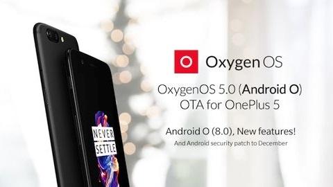 OnePlus 5 için Android 8.0 Oreo güncellemesi yayımlandı
