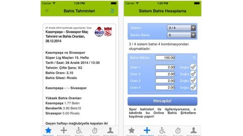 Online Bahis Siteleri iOS Uygulaması