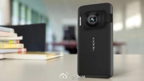 Oppo'nun N-Lens N1 isimli telefon-kamera melezi ortaya çıktı