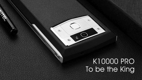 10.000 mAh pile sahip yeni Oukitel K10000 Pro geliyor